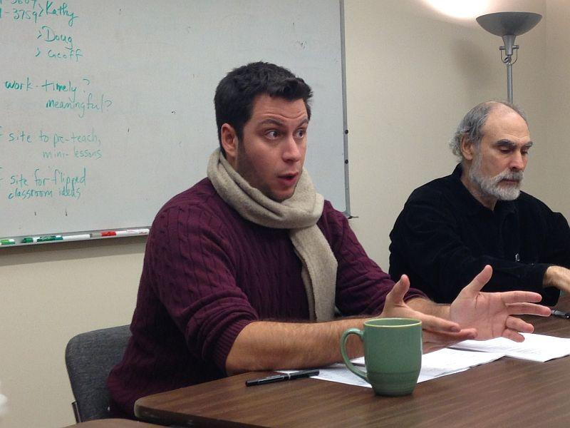 When he is not hosting Weekend Edition Saturday on VPR, Peter Biello leads the Burlington Writer's Workshop.