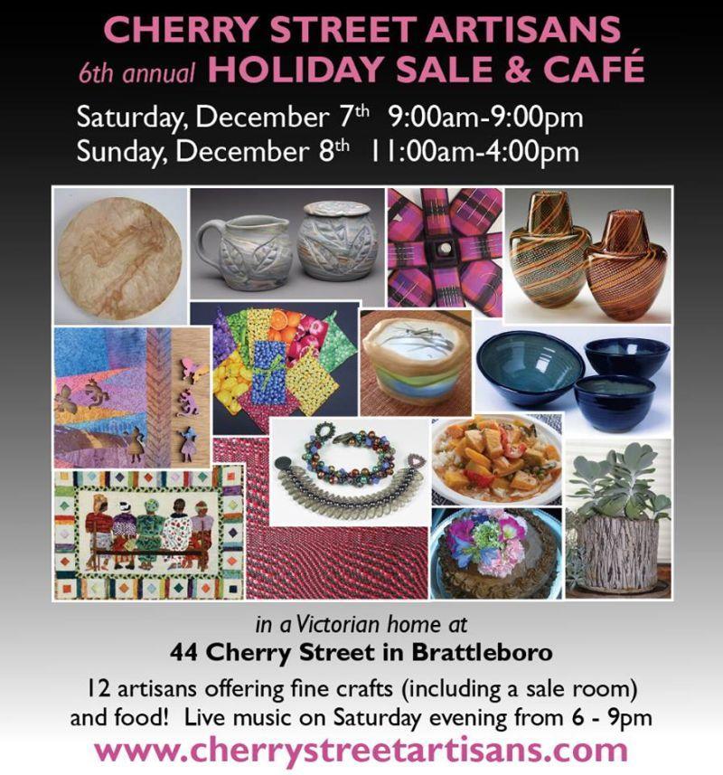 Poster for Cherry Street Artisans event