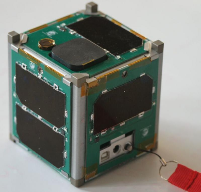Vermont Technical College's CubeSat now orbits the earth