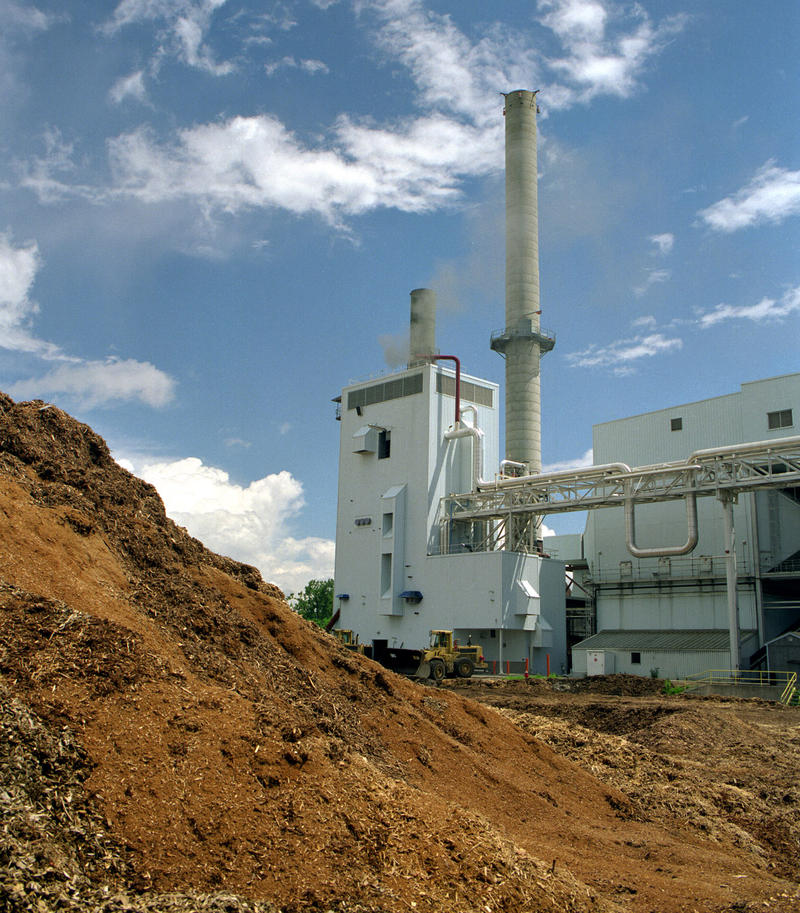 The McNeil Electric Generating Station in Burlington, a biomass gasfixer that opererates on woodchips.