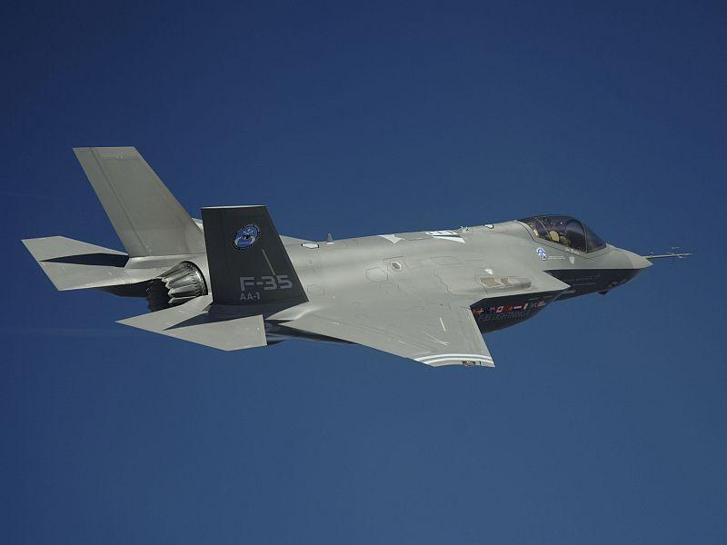 Burlington has been selected as a base for the Air Force's F-35 Lightning II jets.