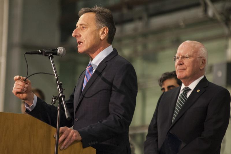 """The Air Force has made clear that this aircraft, which will anchor our national air defenses, is the Air Force's future,"" Gov. Shumlin said in a joint statement Tuesday morning."
