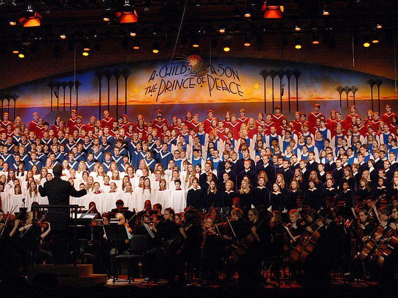 St. Olaf Festival choir