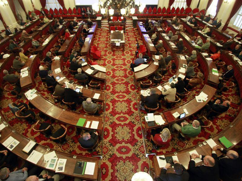 File photo of the Vermont House Chamber at the Vermont Statehouse