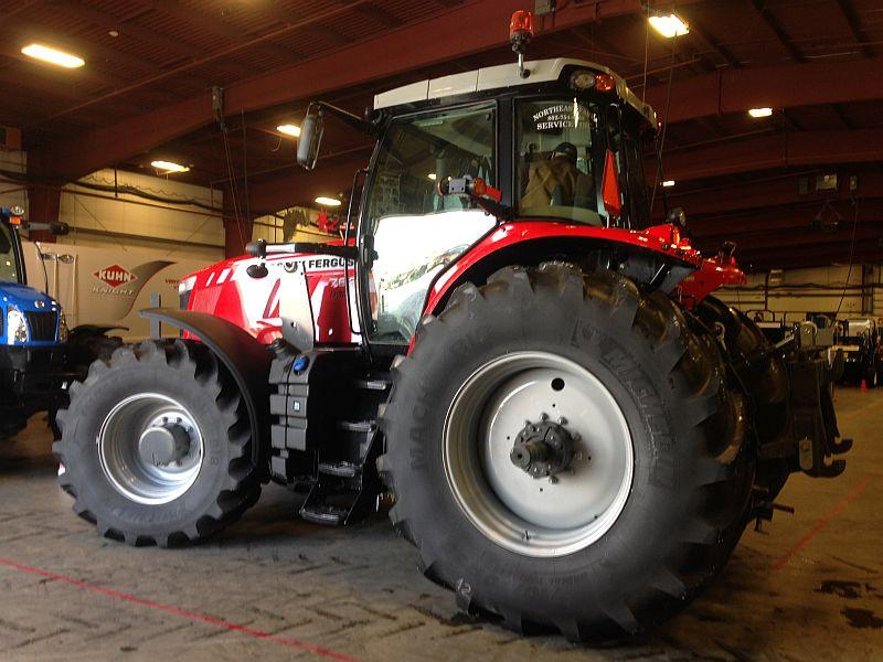 Checking out new equipment from vendors and massive tractors is a highlight of the Vermont Farm Show each winter.