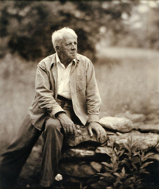 This handout photo provided by the National Portrait Gallery shows Robert Frost, by Clara Sipprell Gelatin, c. 1955.