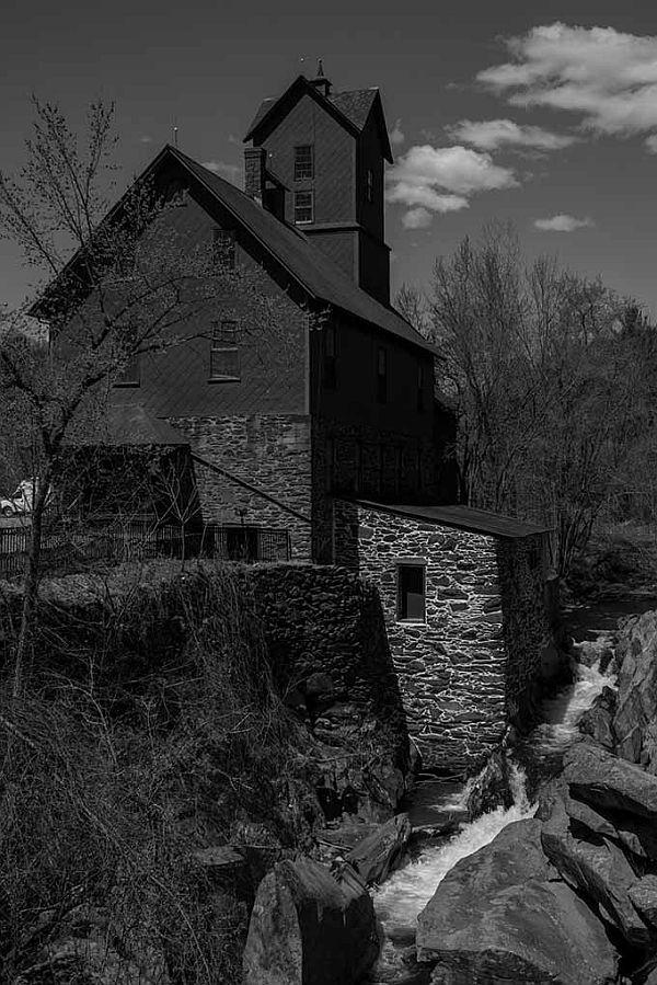 Chittenden Roller Mills in Jericho is sited on the banks of Brown's River.