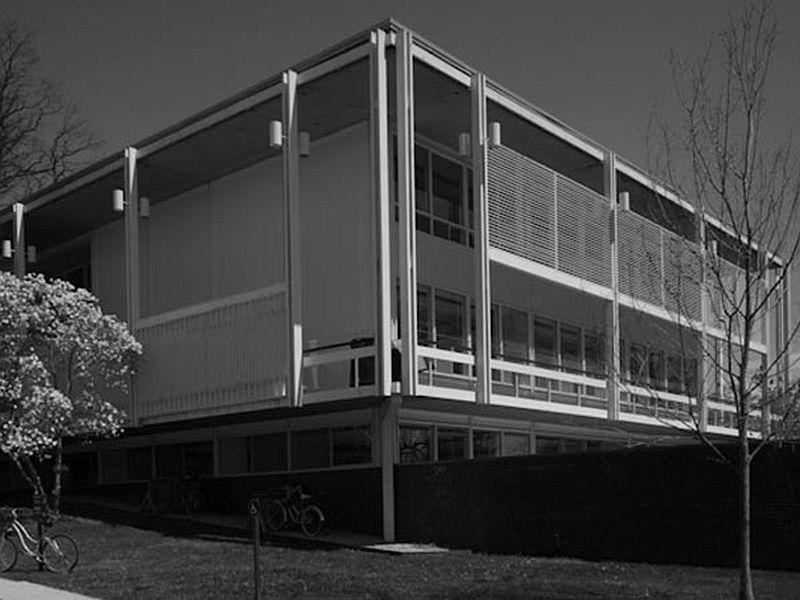 In 1960, Crossett Library at Bennington College was chosen as one of the four best new libraries.