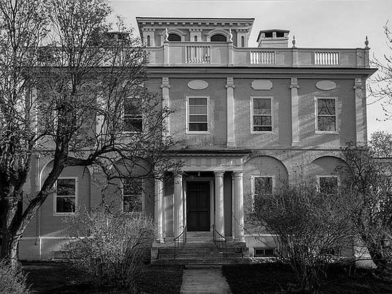Grassemount in Burlington was designed by John Johnson and Abram Stevens.