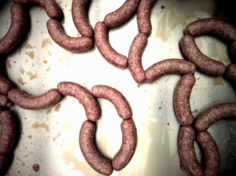"""""""You can be really creative making sausages,"""" says our guest Cole Ward. If you don't like this picture, you might not want to click through to the others!"""