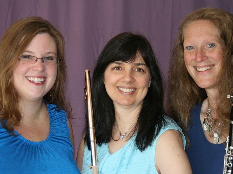 Claire Black, Laurel Ann Maurer and Karen Luttik