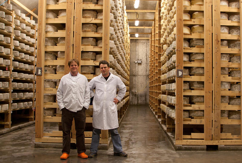 Andy and Mateo Kehler's cheese cellars at Jasper Hill Farm, in Greensboro, is one of the Northeast Kingdom's most successful agricultural enterprises.
