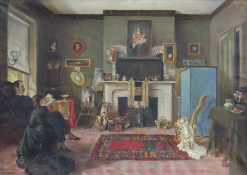 Martha Belcher's Living Room