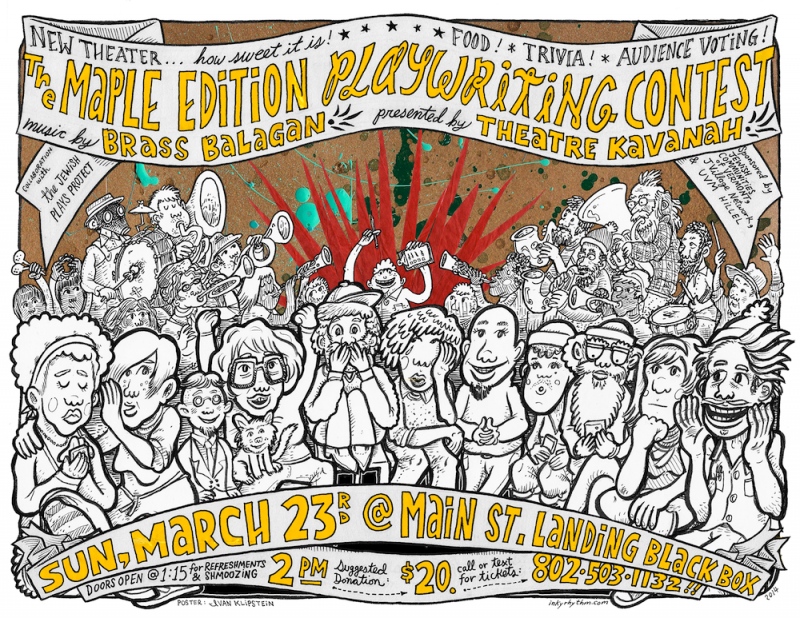 Poster from Maple Edition Playwriting Contest