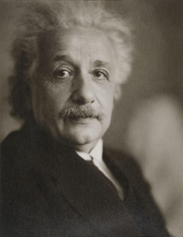 Portrait of Albert Einstein by Clara Sipprell