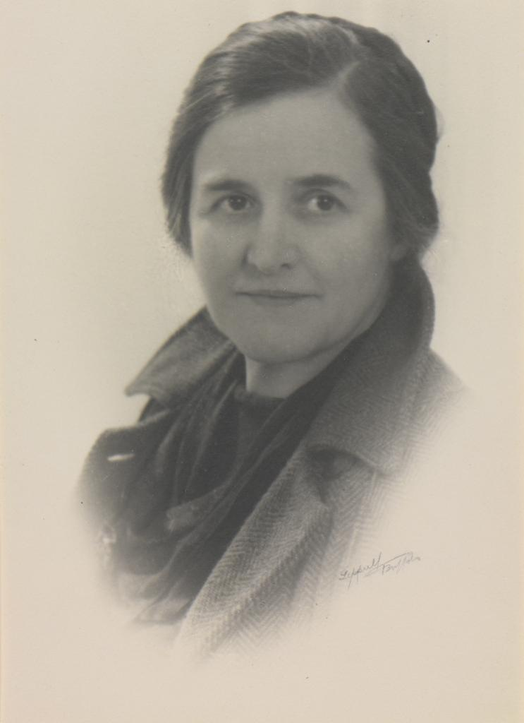 Portrait of Clara Sipprell by Francis J. Sipprell circa 1930