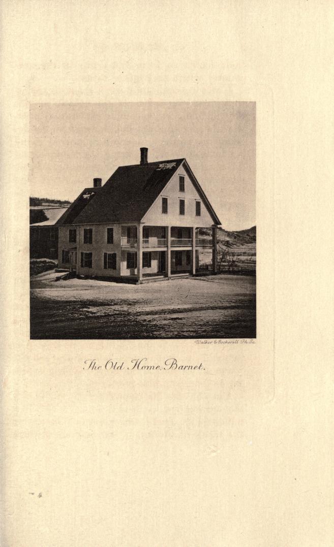 The Stevens childhood home in Barnet, from a 1903 memoir of BF Stevens - public domain on Google Books and Internet Archive.