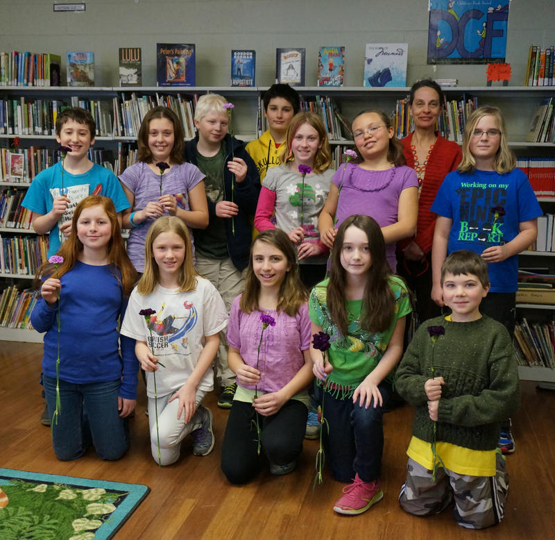 The DCF Club at Wolcott Elementary School.