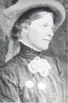Rachael Elmer circa 1918