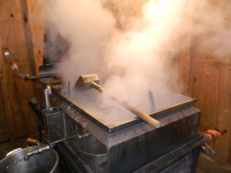 Sugaring in Georgia, Vermont