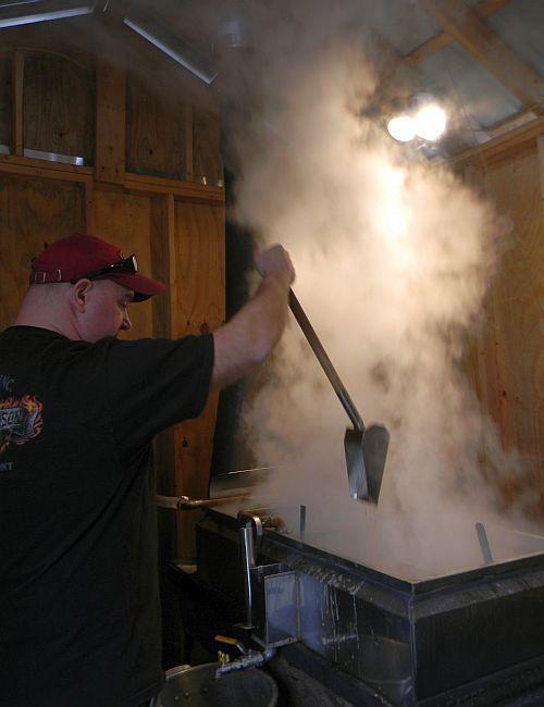 Sugaring in Georgia, Vermont