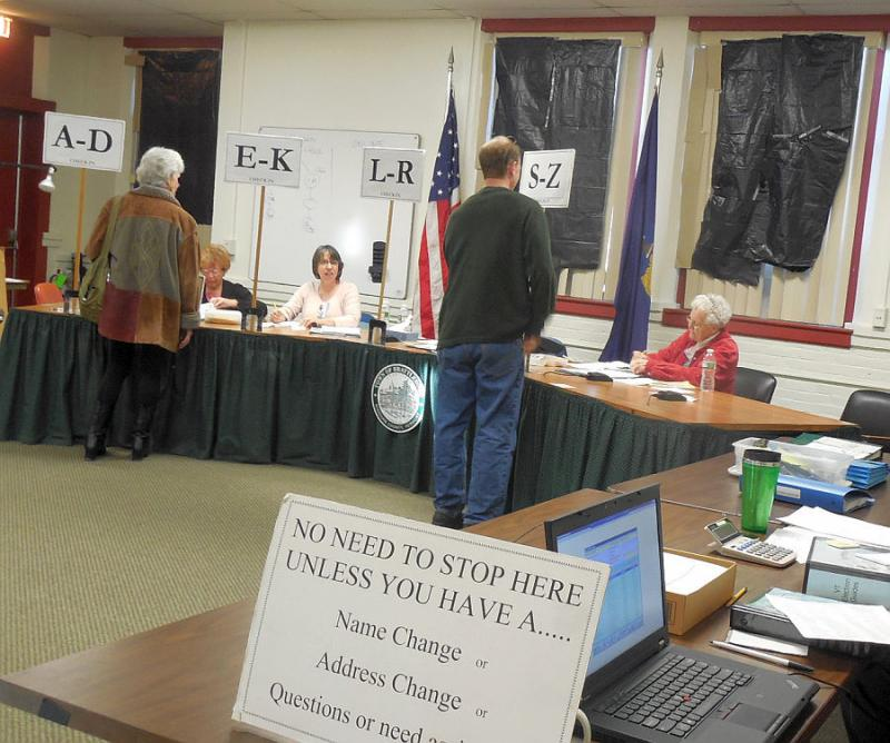 Fifteen percent of the town's voters cast ballots in Brattleboro's budget revote. Almost half voted early, by absentee ballot.