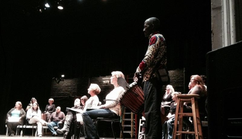 Survivors of sexual abuse tell their stories at The Lebanon Opera House.