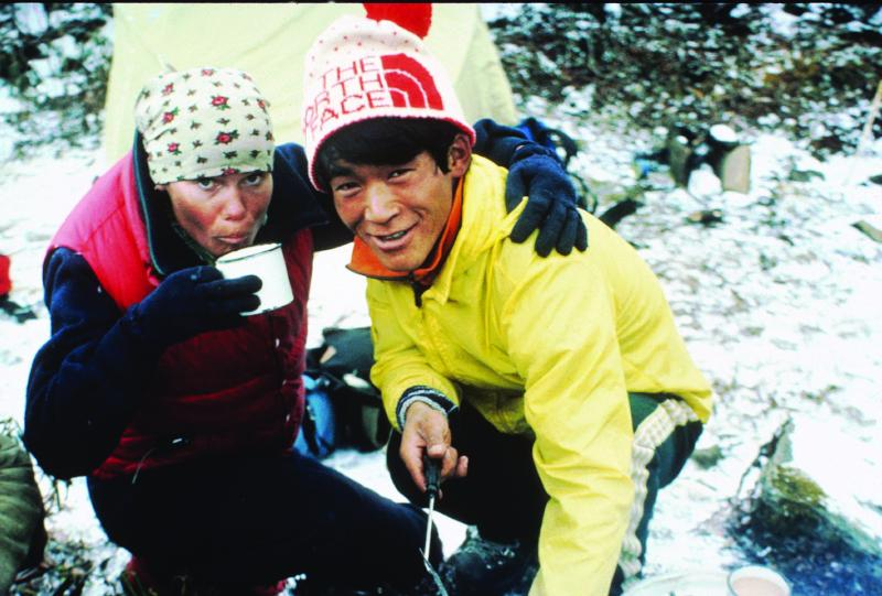 Reynolds has climbed some of the highest peaks in the world, often as the only woman in the expedition.