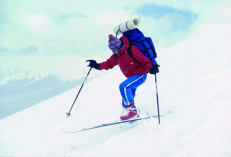 Jan Reynolds is a world-record breaking skier.