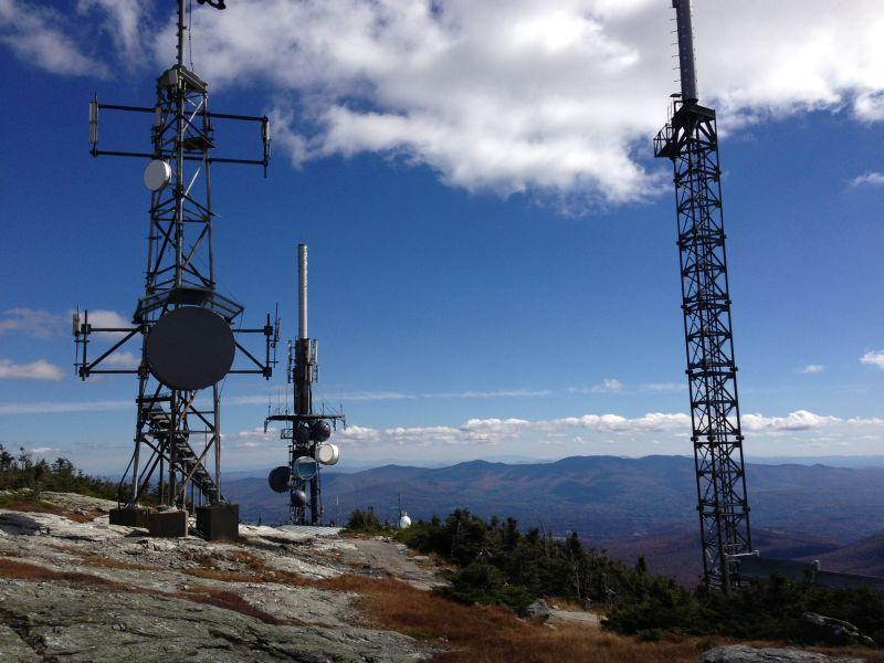 VPR's transmitter for WVPS 107.9 FM, located on Mount Mansfield, can be heard across much of Vermont and into Montreal.