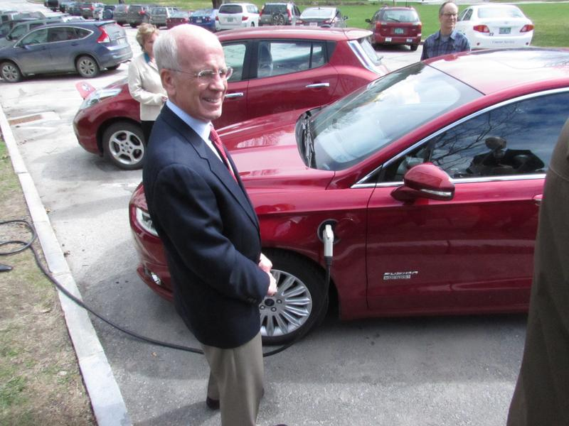Congressman Peter Welch is a fan of electric vehicles.