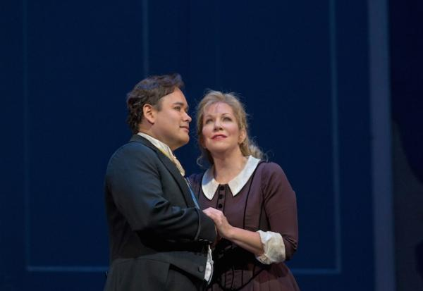 Javier Camarena and Joyce DiDonato in the Metropolitan Opera's production of La Cenerentola