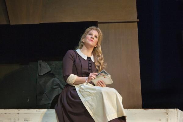 Joyce DiDonato as Angelina in the Metropolitan Opera production of La Cenerentola