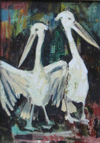 """Pelicans"" by Mary Bryan"