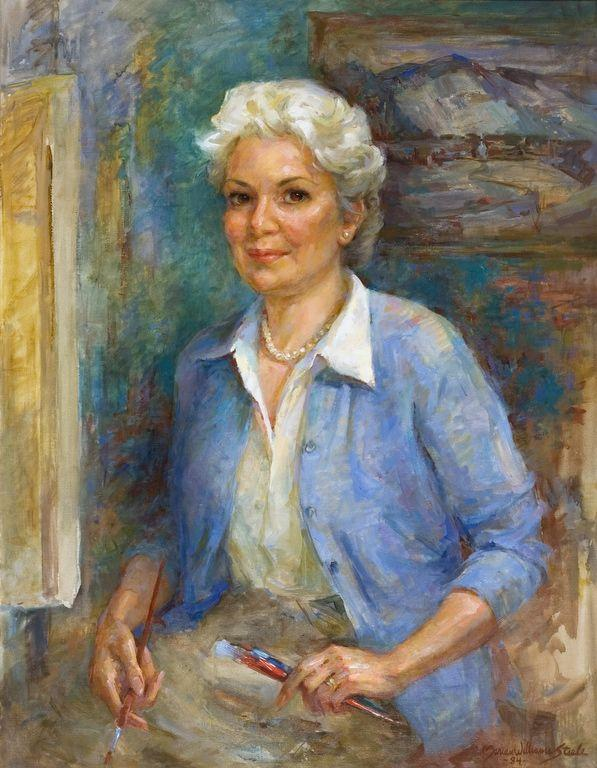 """Portrait Of Mary Bryan"" by Marian Williams Steele"