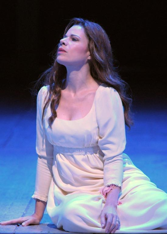 "Ana María Martínez as Desdemona in the Lyric Opera Of Chicago's production of ""Otello"""