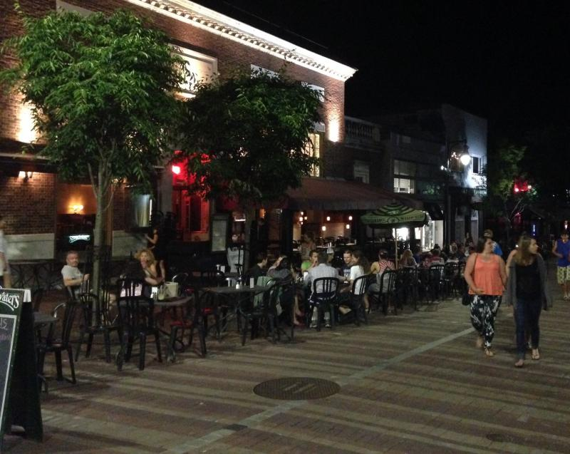 Some Burlington city councilors argue that the proliferation of outdoor seating has turned Church Street into an outdoor cafe that should be smoke-free.