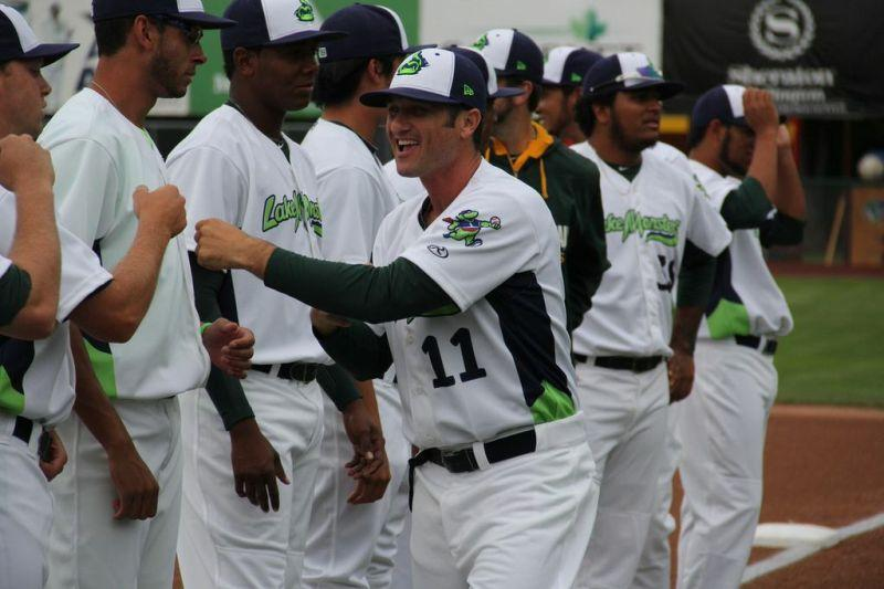 David Newhan is the new manager for the Vermont Lake Monsters.