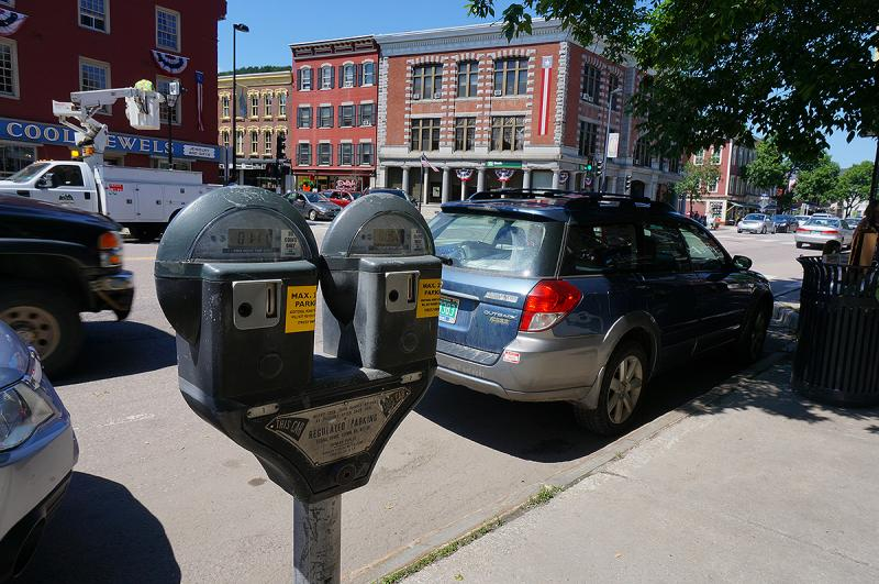 Montpelier to test high tech parking meters vermont - Aep exterior electrical line coverage ...