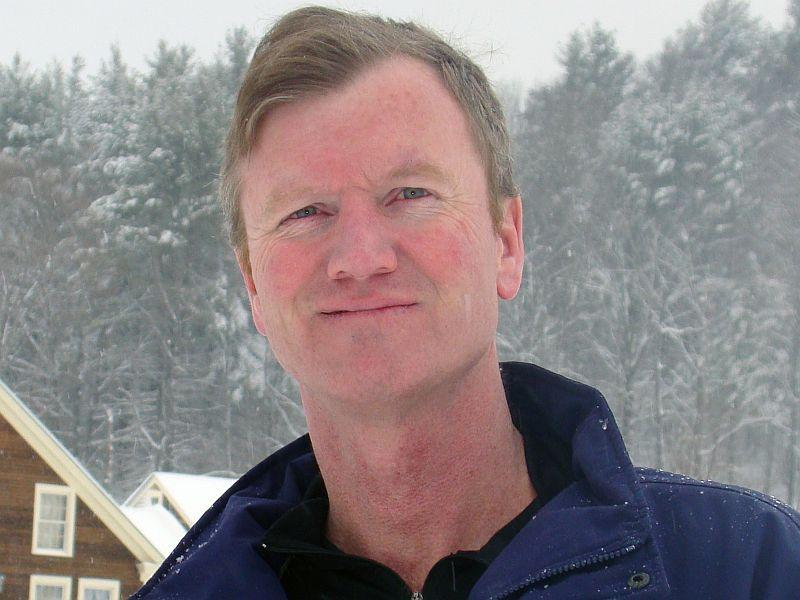 Scott Milne of Pomfret is one of three Republican candidates running for governor.