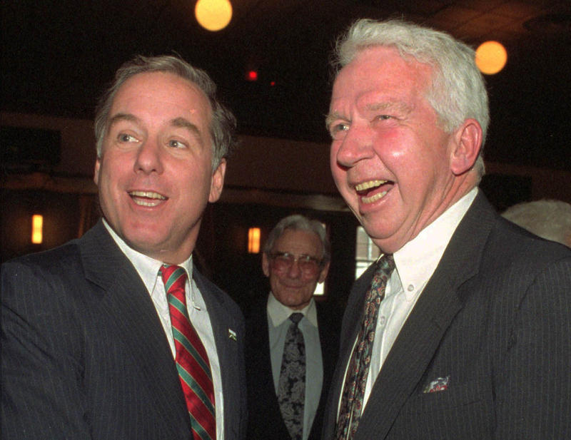 The history of the process that followed the submission of the two health care reform plans in the mid-1990s -- one by Democratic House Speaker Ralph Wright, pictured here, right, with Gov. Howard Dean in 1996 -- is unrelievedly bleak.