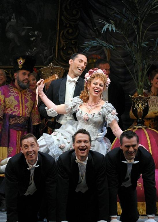 Daniela Fally in the Lyric Opera Of Chicago's production of Die Fledermaus
