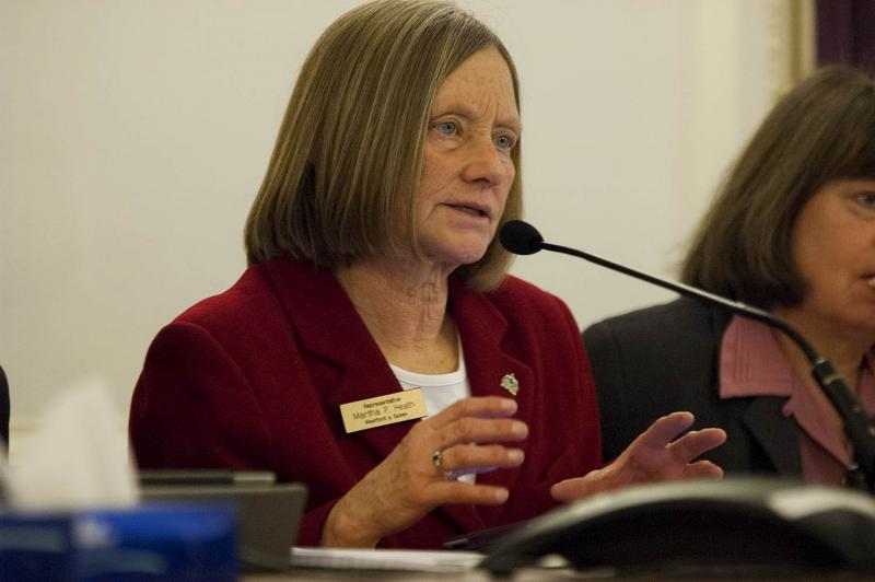 After 22 years in the Vermont House, Rep. Martha Heath, pictured here in January, has announced that she will not seek reelection.