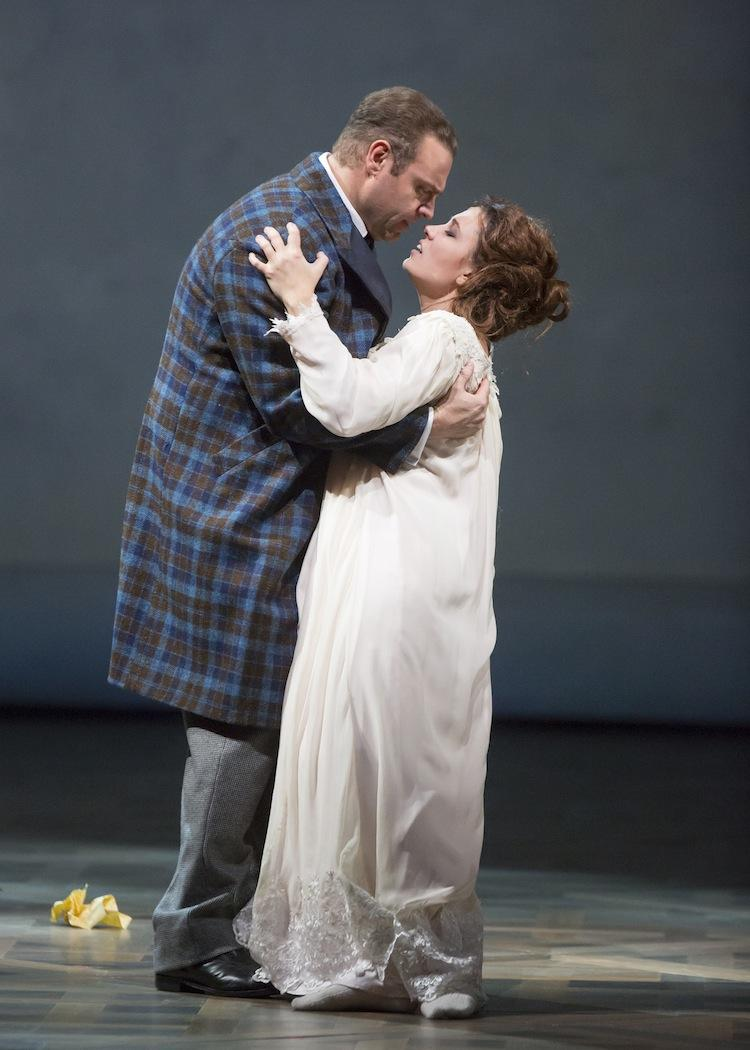 "Joseph Calleja and Marina Rebeka in the Lyric Opera Of Chicago's ""La Traviata."""