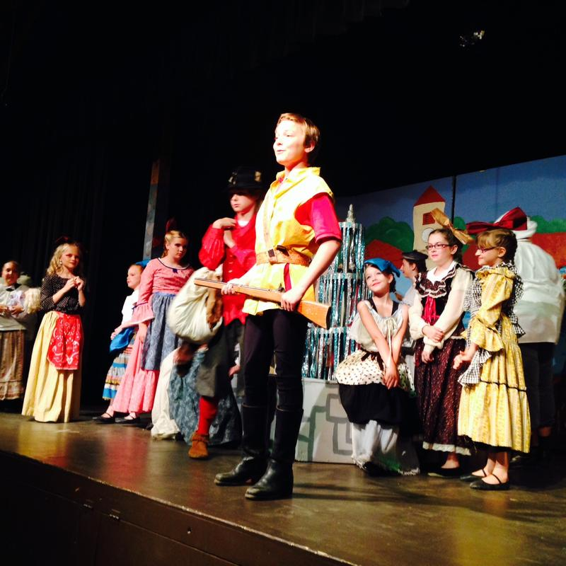 "Young actors present ""Beauty and the Beast"" at Vermont Children's Theater in Lyndonville."