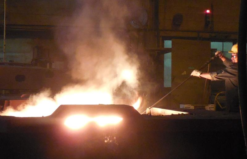 The Vermont Castings foundry in Randolph has added 10 positions since last August.