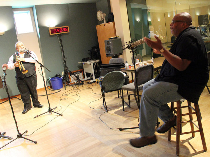 Ray Vega speaks with Reuben Jackson in VPR's Performance Studio on July 11, 2014.