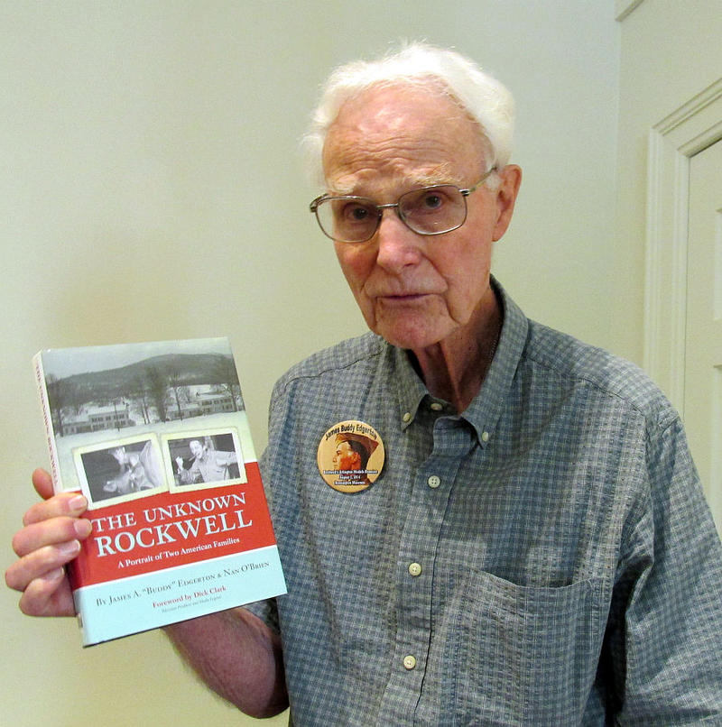 Buddy Edgerton's family lived next door to the Rockwell family and co-authored a book about his experiences.
