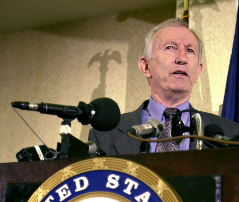 Sen. Jim Jeffords declared his independence from the Republican party at a press conference in Burlington 15 years ago, on May 24, 2001.
