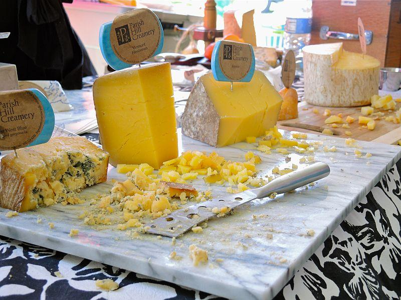 The Vermont Cheesemakers Festival was held recently at Shelburne Farms.